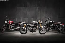 2016 triumph bonneville line is reborn motorcycle usa