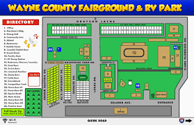 Minnesota State Fair Map Wayne County Fairgrounds Belleville Michigan