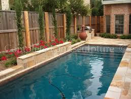 narrow formal pool for a small yard custom formal pools