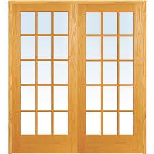 mmi door 61 5 in x 81 75 in classic clear true divided 15 lite