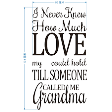 online buy wholesale wall decals grandma from china wall decals