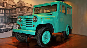 turquoise jeep car meet the first ever korean car