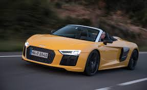 2017 audi r8 spyder first drive u2013 review u2013 car and driver