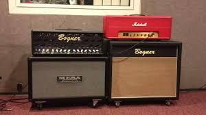 marshall 2x12 vertical slant guitar cabinet mesa horizontal 212 vs bogner oversize 212 2x12 cab comparition