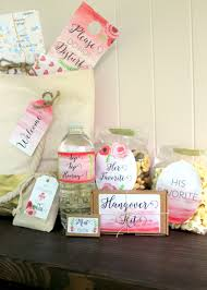 wedding guest bags wedding welcome bag for guests and bridal wedding tami