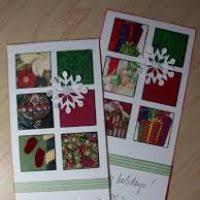 create a christmas card crafts to make using christmas cards wordblab co