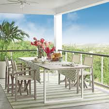 outdoor living room sets 20 outstanding outdoor dining rooms coastal living