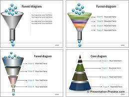 powerpoint tutorial to make a funnel diagram