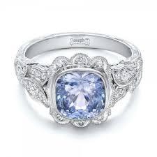 light blue sapphire engagement rings sapphire engagement rings custom design rings in bellevue and seattle