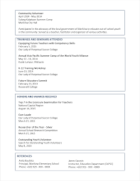100 resume template undergraduate sample undergraduate