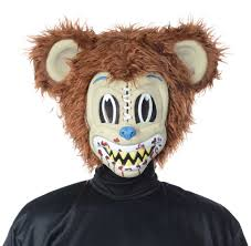 grizzly bear halloween costume scary evil zombie ted killer bear furry bunny halloween fancy