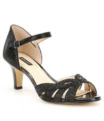 wedding shoes navy women s special occasion evening shoes dillards
