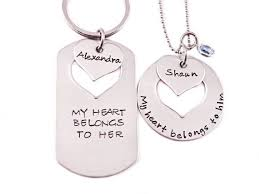 Engraved Necklaces For Her Him And Her Necklaces Clip Arts