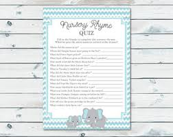 nursery rhyme baby shower nursery rhyme party etsy