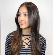 long haircut hair cut long brown hair curls hair styles aveda