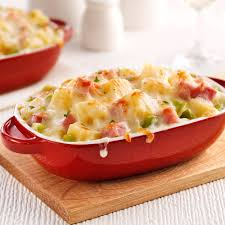 cuisine suisse gratin de jambon poireaux et fromage suisse soupers de semaine