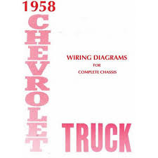 1958 chevy truck wiring diagram chevy car parts