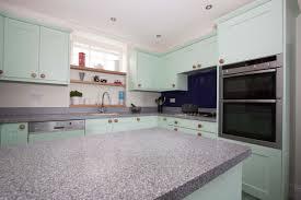 Buy Corian Countertops Online Pistachio Painted Solid Oak Shaker Kitchen Door With Platinum