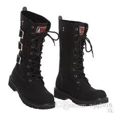 s high boots 2016 winter s high boots leather outdoor martin boots boy
