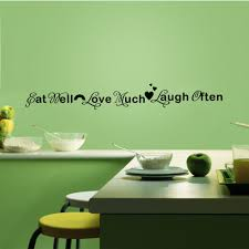 Dining Room Wall Quotes Compare Prices On Wellness Quotes Online Shopping Buy Low Price