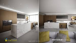 Kitchen Trends 2015 by Minosa 3d Rendering