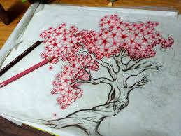 this is the one cherry tree with big blossoms to do