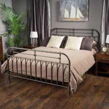 Steel King Bed Frame by Wrought Iron Queen Bed Wrought Iron Bed Frames Rod Iron Queen Bed