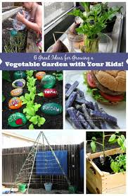 6 great ideas for growing a vegetable garden with your kids