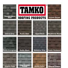 Tamko Thunderstorm Grey Shingles by Tamko Roofing Colors On Equipment With Shingles Roof