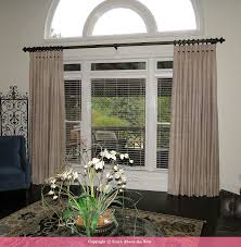 Stationary Curtain Rod Custom Curtains And Drapery Panels Atlanta Georgia Stitch