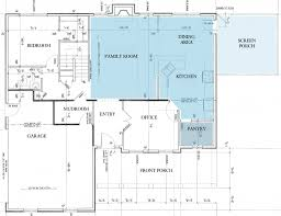 kitchen lay outs with innovative large home fllor plan design for