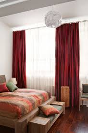 Red And White Bedroom Walls 25 Best White Bedroom Curtains Ideas On Pinterest Bedroom Curtains