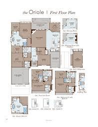 gehan floor plans oriole home plan by gehan homes in hidden lakes classic 80 u0027
