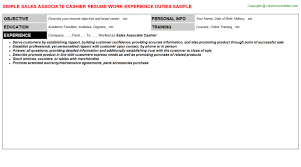 Cashier Resume Objective Career Counselor Resume Template Professional Dissertation