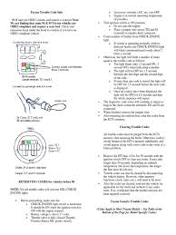 toyota check engine light codes toyota trouble code info throttle turbocharger