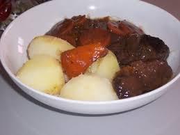 cuisiner de la joue de boeuf daube de joue de bœuf recette iterroir