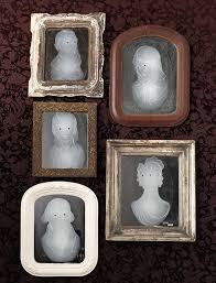 Martha Stewart Halloween Craft by Martha Stewart Crafts Mirror Clings Gothic Manor Framed Ghost Ebay