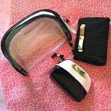 bnwt victoria 39 s secret set of 3 makeup bags