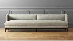 how long is a standard sofa brava long sofa in sofas reviews cb2