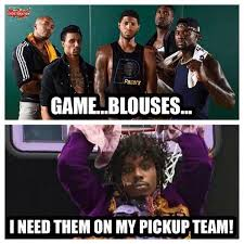 Game Blouses Meme - nba meme team on twitter prince was impressed with the pacers win