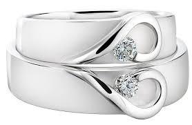 diamond couple rings images 9 precious platinum diamond rings for special couples jpg