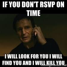 Planning A Wedding Meme - non rsvp guests krystle planning community wedding com