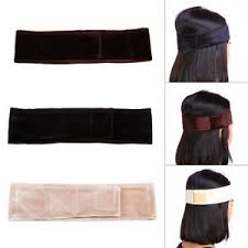 wig grips for women that have hair women flexible velvet wig grip scarf headband adjust fastener hair