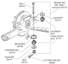 corvette supply mount kit and related diagram view chicago corvette supply