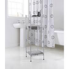 4 Tier Shelving Unit by 4 Tier Bathroom Shelving Unit Bathroom Storage B U0026m