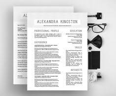 Fancy Resume Templates Word Sophisticated Resume Design For Microsoft Word Template By