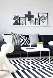 Black And White Stripped Rug Black And White Bedroom Decor Pictures Centerfieldbar Com