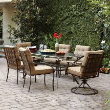 Patio Dining Set Clearance by Decorating Stunning Adorable Green Cushion Chairs Wrought Iron