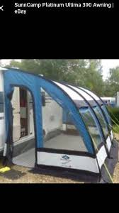 390 Porch Awning Sunncamo Ultima 390 Porch Awning With Carry Bag In Blackwood