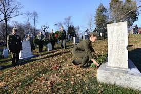 Military Funeral Flag Presentation Arlington National Cemetery Military Com